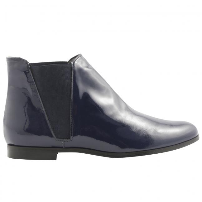 Boots-vernis-Boyish-bleu