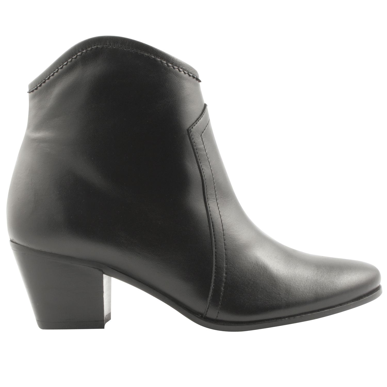Boots-cuir-Quesal-noir