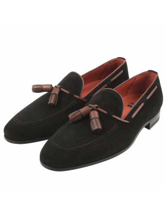 Mocassin-homme-luxe-Harry-nubuck-marron