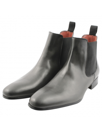 Chelsea-boots-homme-Fats-cuir-gris