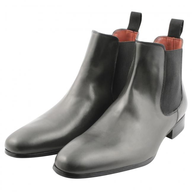Chelsea-boots-homme-Fats-cuir-gris