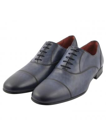 Chaussure-Richelieu-Vadim-cuir-bleu