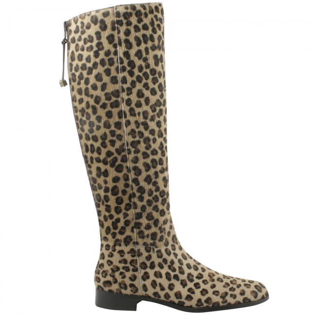 Bottes-plates-femme-Kim-poulain-leopard
