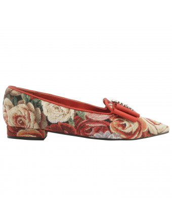 Ballerine-pointue-Favorite-toile-madame