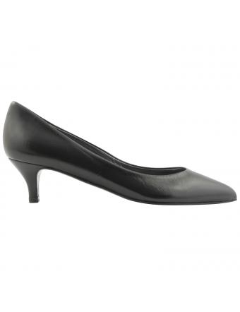 Escarpins-petit-talon-cuir-noir-Lolita