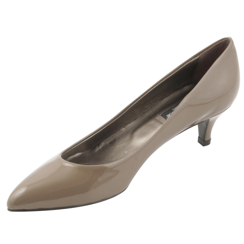 550ab944e975 Chaussures à petit talons Lolita en cuir de qualité noir - Exclusif