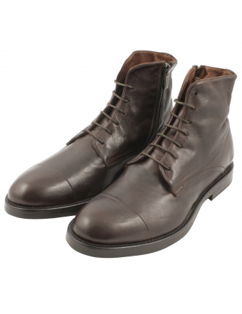 Chaussure-homme-luxe-Doug-cuir-marron