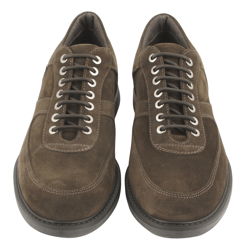 derby chaussure homme jim en nubuck couleur marron exclusif. Black Bedroom Furniture Sets. Home Design Ideas