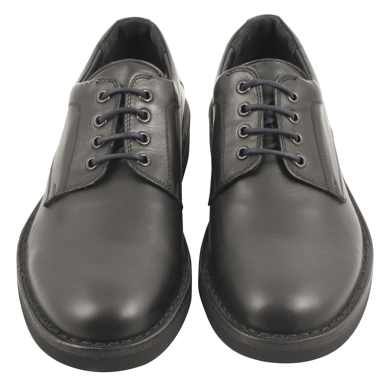 homme couleur en cuir Exclusif Chaussure noire derby Paris hdQxBtsCor
