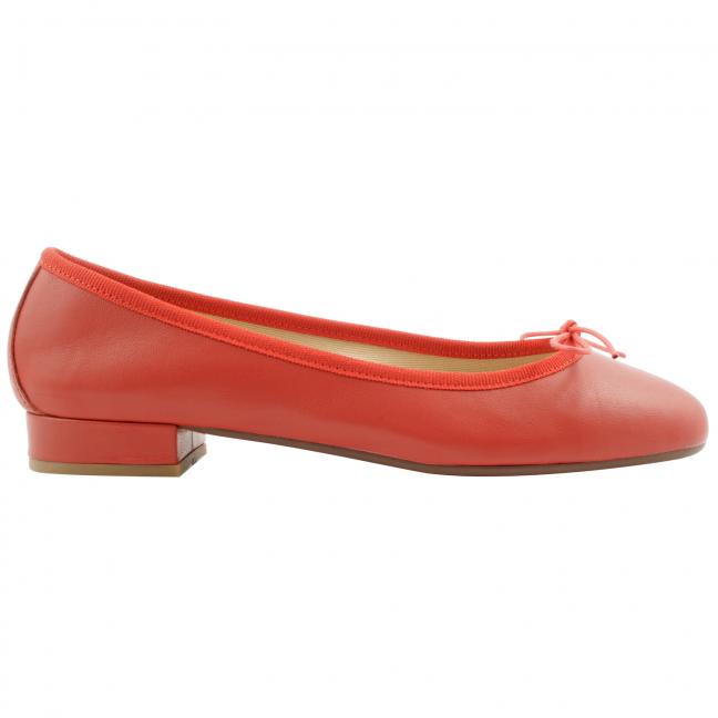 ballerine-rouge-cuir-Lidia