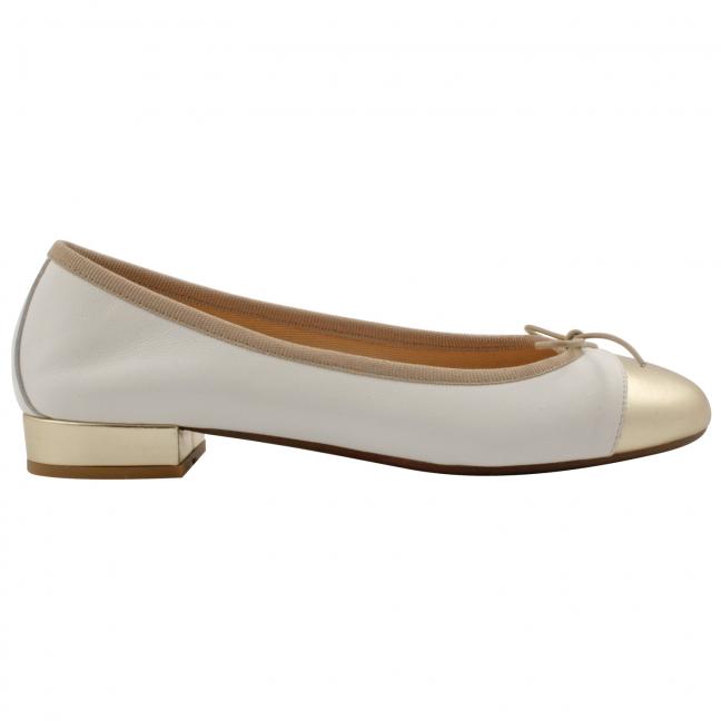 ballerines-cuir-dorées-blanc-Ludovica