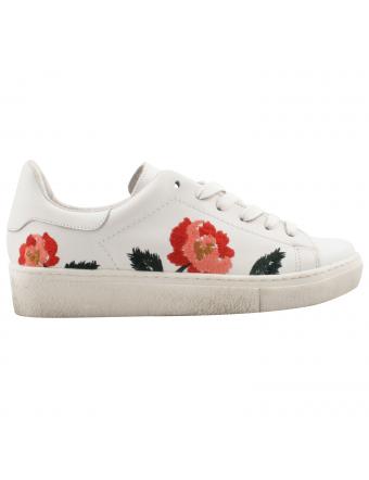 basket-fleur-cuir-blanc-Gaby
