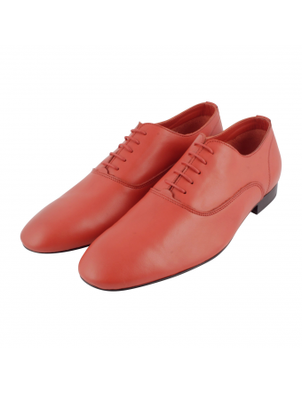 chaussure-cuir-rouge-homme-Gainsbar