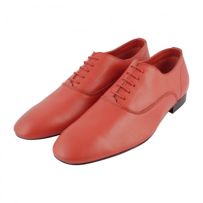 chaussure-cuir-rouge-homme-Gainsbar