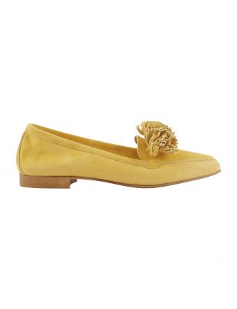 mocassin-jaune-safran-nubuck-femme-Joya