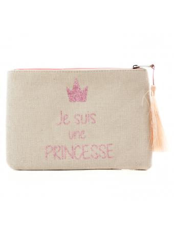 pochette-rose-paillette-Je-suis-une-PRINCESSE