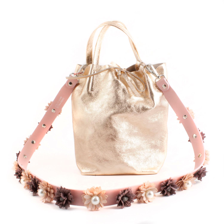revendeur ad248 1e1a3 Anses en cuir rose de type bandoulière pour votre sac préféré !