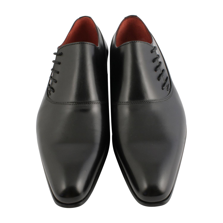 Chaussure richelieu homme en cuir noir au laçage original et dynamique 6c2038ecfa4