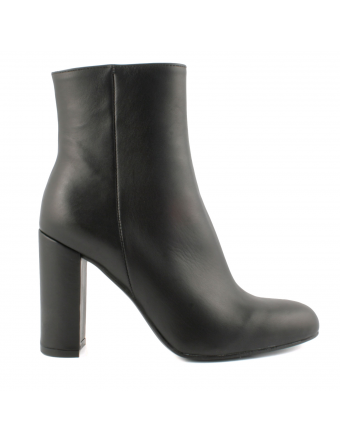 Bottines-Talon-Cuir-Noir-Marcia