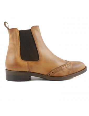 Boots-Camel-Cuir-Belina