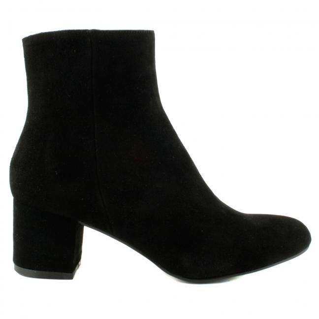 Boots-Noir-Daim-Femme-Melina