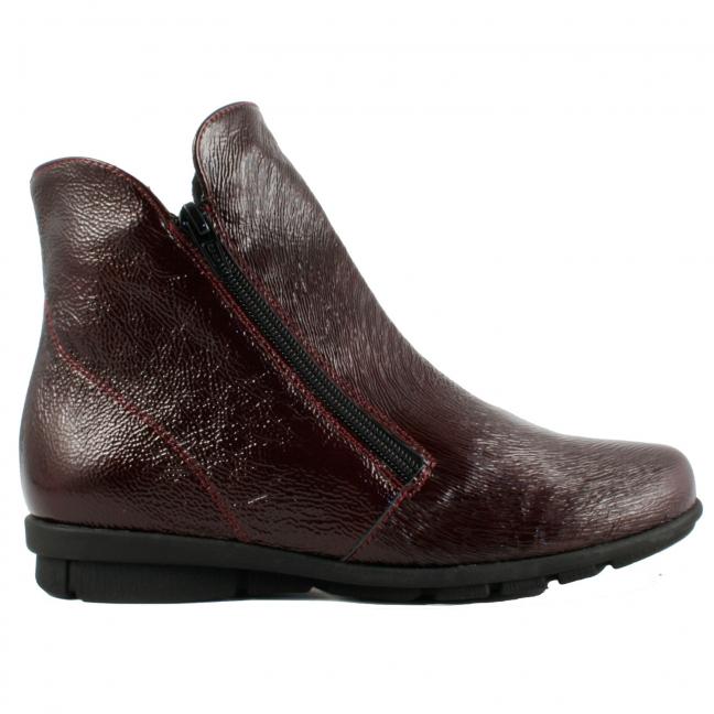 Boots-vernis-bordeaux-Janic
