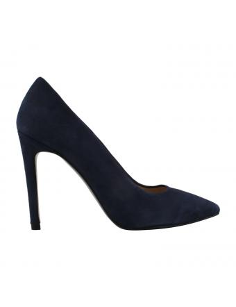 Chaussure-Escarpin-Nubuck-Bleu-Marine-Cherry