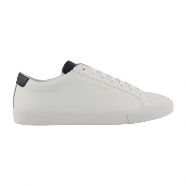 Jim-Rickey-Shoes-Cuir-Blanc-Chop