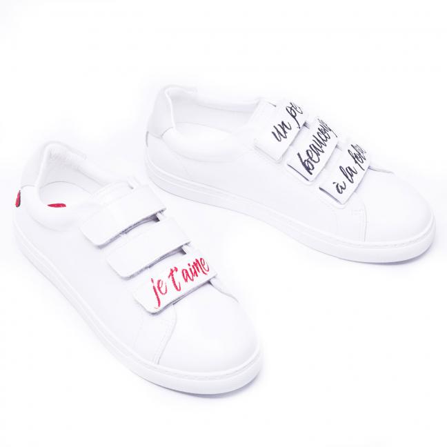 Sneakers-Cuir-Blanc-Tendance-Femme-JeTM