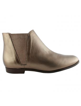Boots-Cuir-Metal-Bronze-Boyish