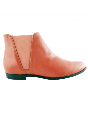 Boots-Cuir-Orange-Boyish