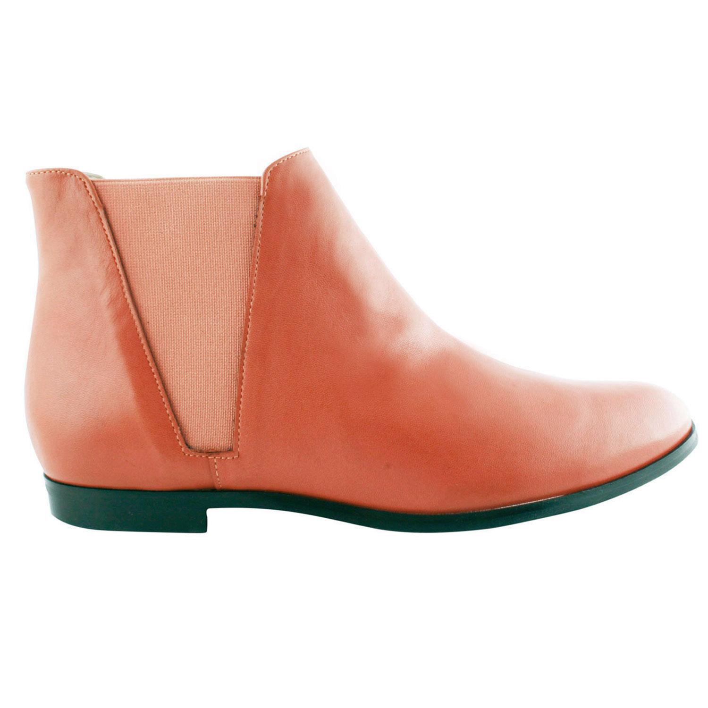 Boots-Cuir-Orange-Boyish