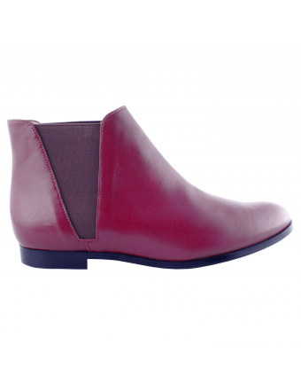 Bottines-Cuir-Rose-Fushia-Boyish