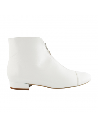 Boots-Femme-Vernis-Blanc-Charly