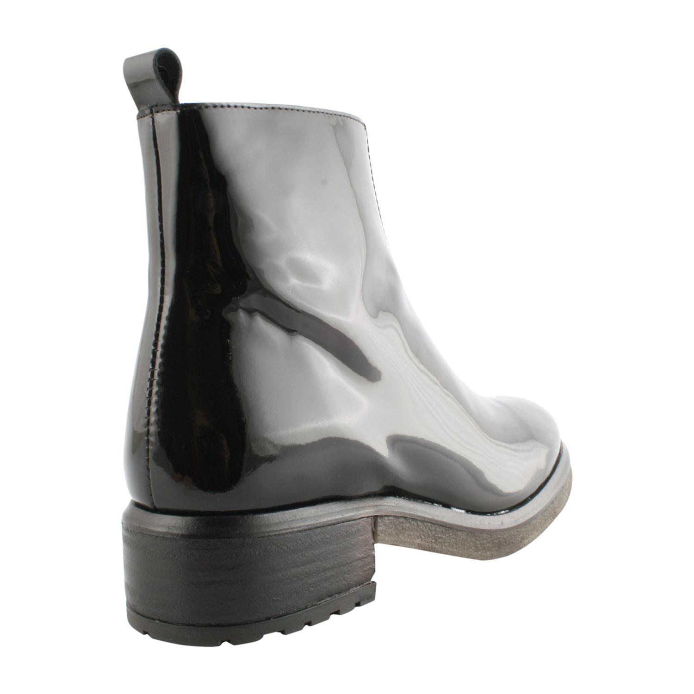 Exclusif Semelle En Épaisse À Pour Paris Boots Noir Femme Vernis aqw8RnZ