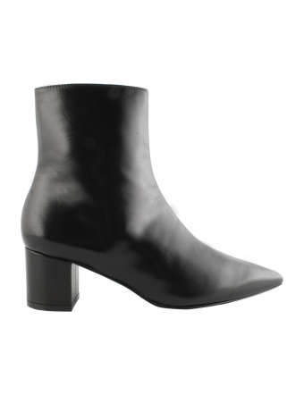 Bottines-Pointues-Cuir-Noires-Femme-Ursula