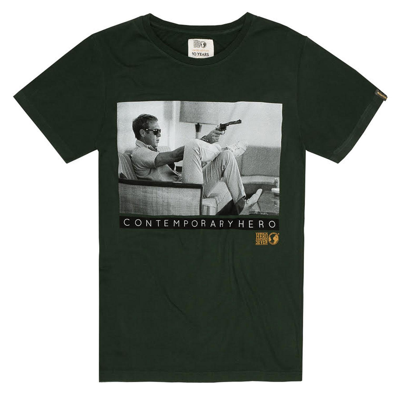 Tee-Shirt-Hero-Seven-Steve-Mcqueen-Gunsofa-LTD