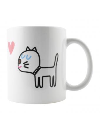 Cadeau-Tasse-Mug-Blanc-Choupette