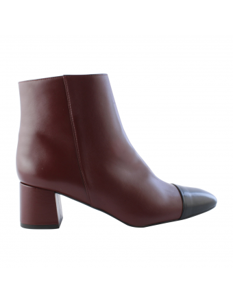 Bottines-Cuir-Bordeaux-Mindy