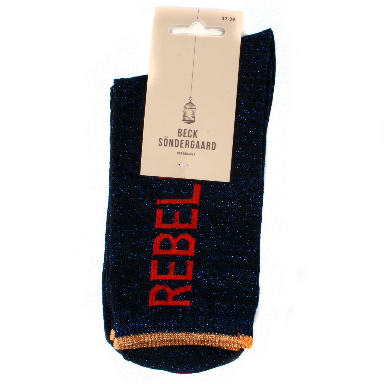 Chaussette-Nylon-Bleu-Dalea-Rebel