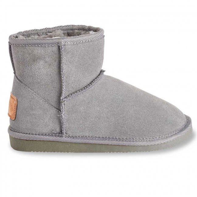 Boots-Daim-Gris-Femme-Flocon