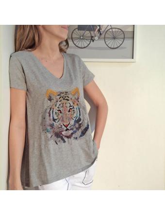 Tigre-Coton-Gris-Five