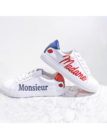 Madame/Monsieur-Cuir-Blanc-Bons-Baisers