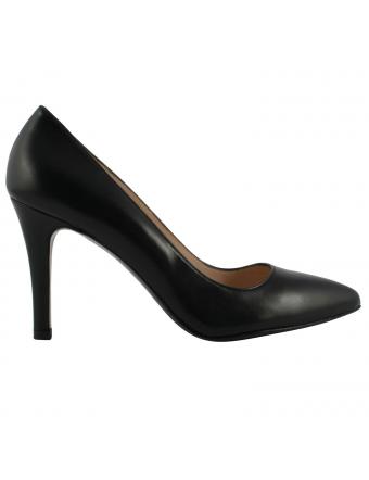 Chaussures-Talons-Cuir-Noir-Kate