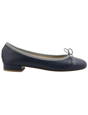 ballerine-cuir-bleu-Lidia