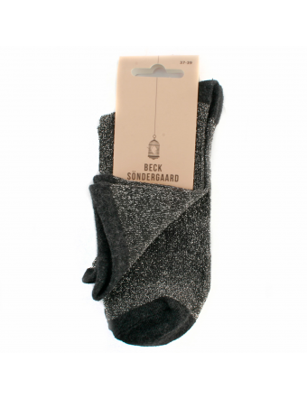 Chaussette-Dina-Solid-Nylon-Anthracite