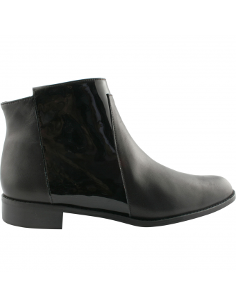 Bottines-Femme-Cuir-Noir-April-Exclusif-Paris