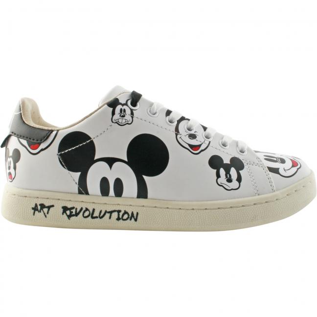 Mickey-Print-Cuir-Blanc-MOA