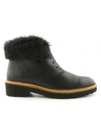 Bottes-fourrées-lapin-cuir-noir-grizly-1