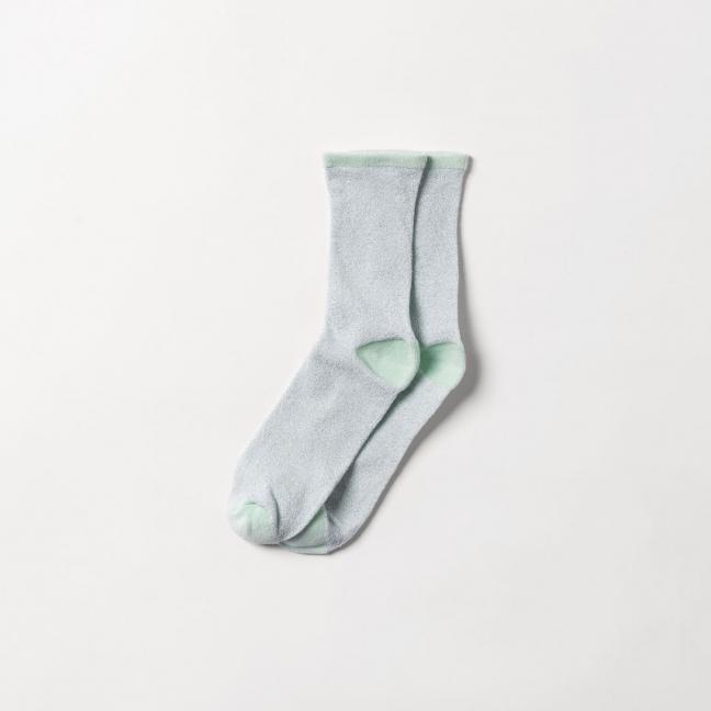 Chaussettes-Dina-Solid-Silt-Green-BeckSöndergraad